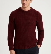 Mens Sweater Men Sweaters Black Stripe Boy Oversize High