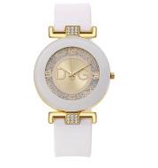 New Fashion Women'S Watch Diamond-Studded Fashion Silicone Watch