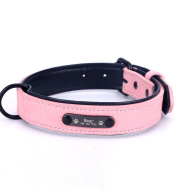 Dog Collar Lettering And Anti Loss Nameplate Custom Dog Brand Sleeve Neck Id Anti-Wear Dog Cat General Traction Rope Suit
