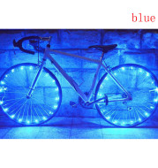 Bicycle Riding Spoke Wheel With Colorful Lights