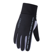 Non-slip Reflective Sports Gloves Winter Men