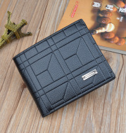 Retro Men's Wallet Men's Short Thin Section