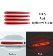 Carbon fiber handle anti-scratch nail cover car sticker car door handle wrist anti-scratch sticker paint protection film reflective