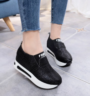 Casual Round Toe Shallow Mouth Solid Color Casual Women's Single Shoes