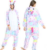Adult Animal Pajamas Women Unicorn Sleepwear