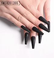 Finished Nail Art Nail Art Glitter Nail Art Sugar Snow Powder Nail Wearable Nail