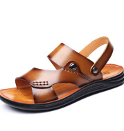 New Style Slippers Dual Use Beach Shoes Soft Sole Casual Sandals And Slippers Men
