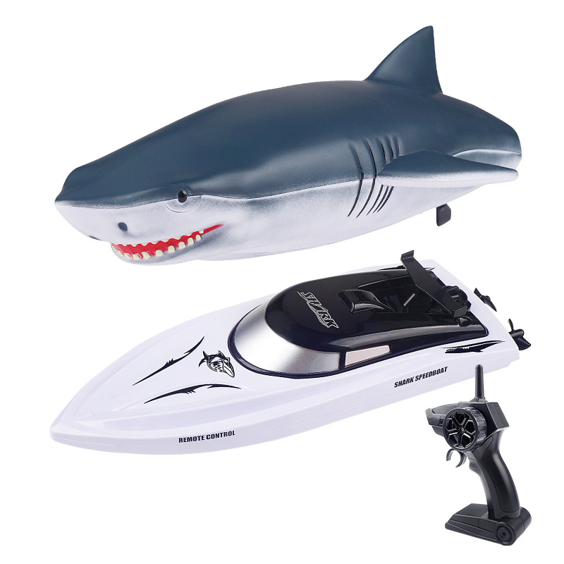 Electric RC Shark Speed Boat 11