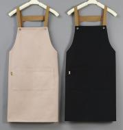 Advertising Apron Custom Female Custom-Made Canvas Custom-Made Japanese Simple Kitchen