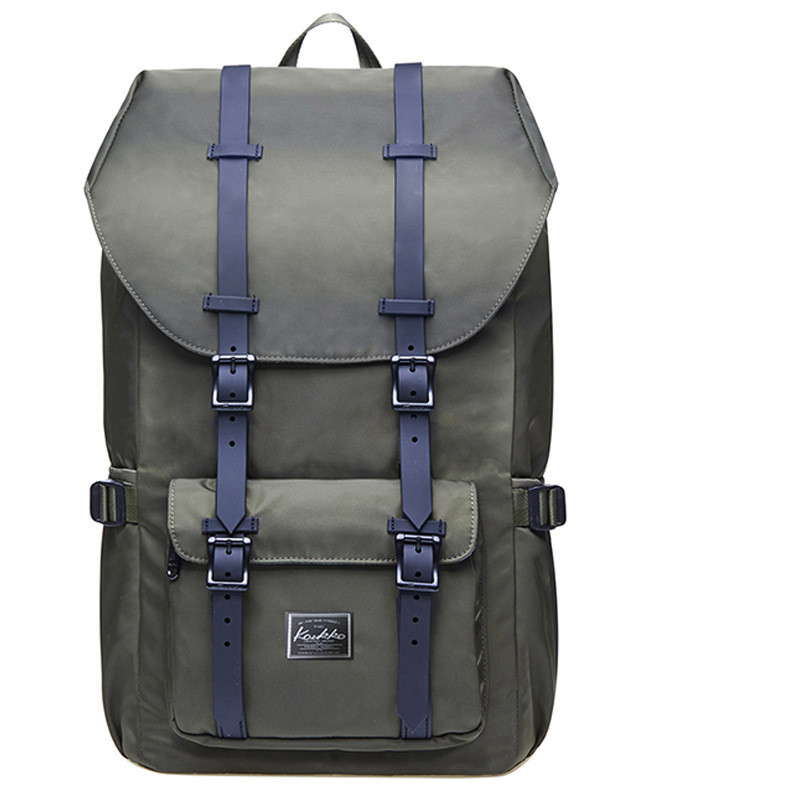 Large Capacity Backpack Green - Hip-Hatter