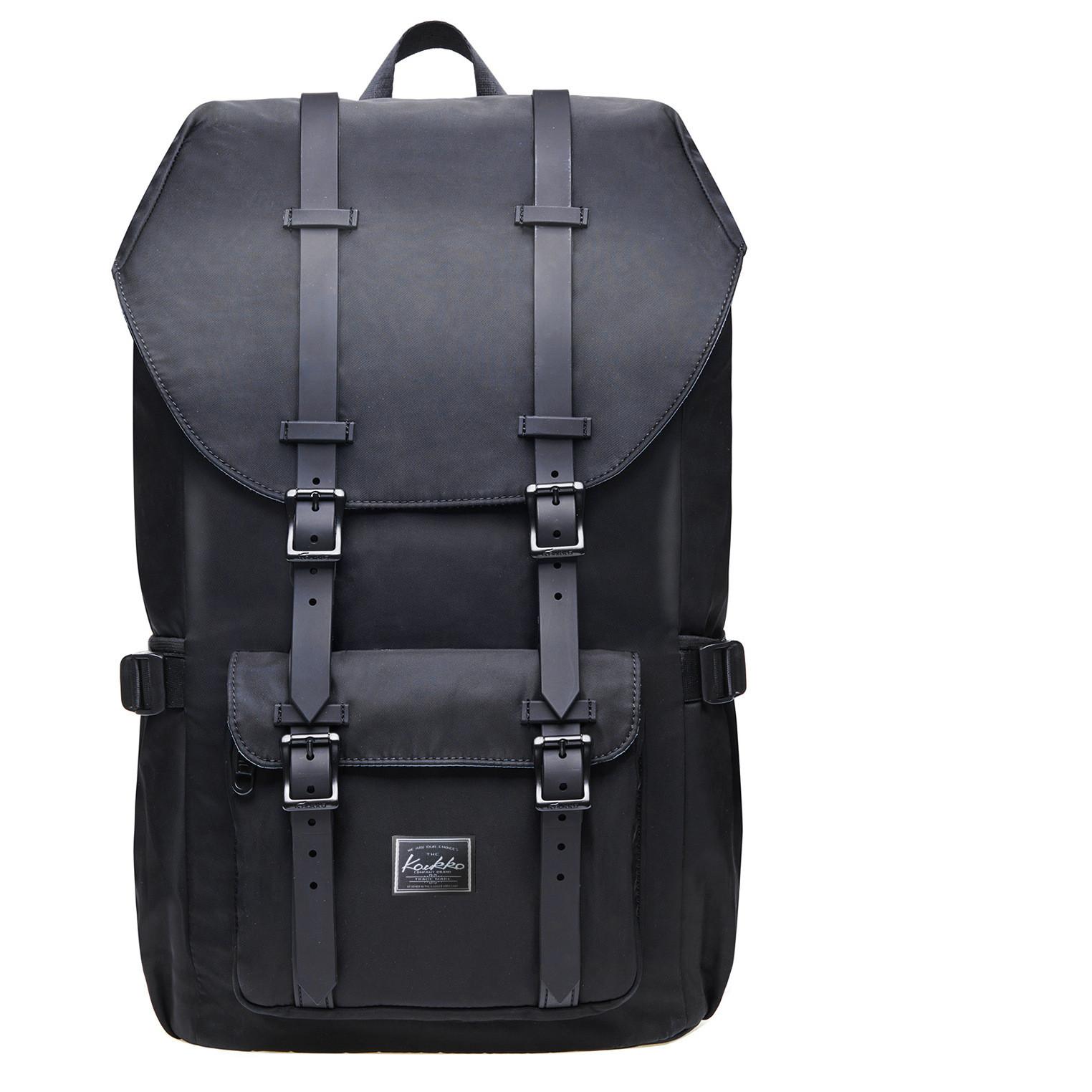 Large Capacity Backpack Black - Hip-Hatter