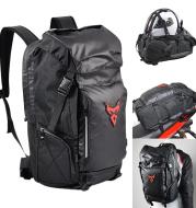 Multifunctional Motorcycle Travel Backpack Shoulder Helmet Bag