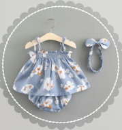 Baby New Summer Korean Princess Dress Baby Skirt Girl Dress Suit