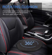 360 Degree Rotation Seat Cushion Mats For Chair Car Office Home Bottom Seats Breathable Chair Cushion For Elderly Pregnant Woman