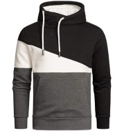 Cross Border European And American New Men'S Outdoor Sports Leisure Color Matching Pullover