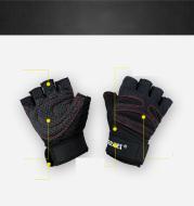 Fitness Gloves Men And Women Exercise Equipment Dumbbell Exercise Weightlifting Half-Finger Gloves Training Gym Breathable Non-Slip