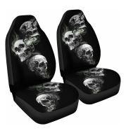 Car Seat Cover All-Inclusive Classic Skull Printing Universal Cross-Border Amazon Ebaywish Aliexpress Hot Style