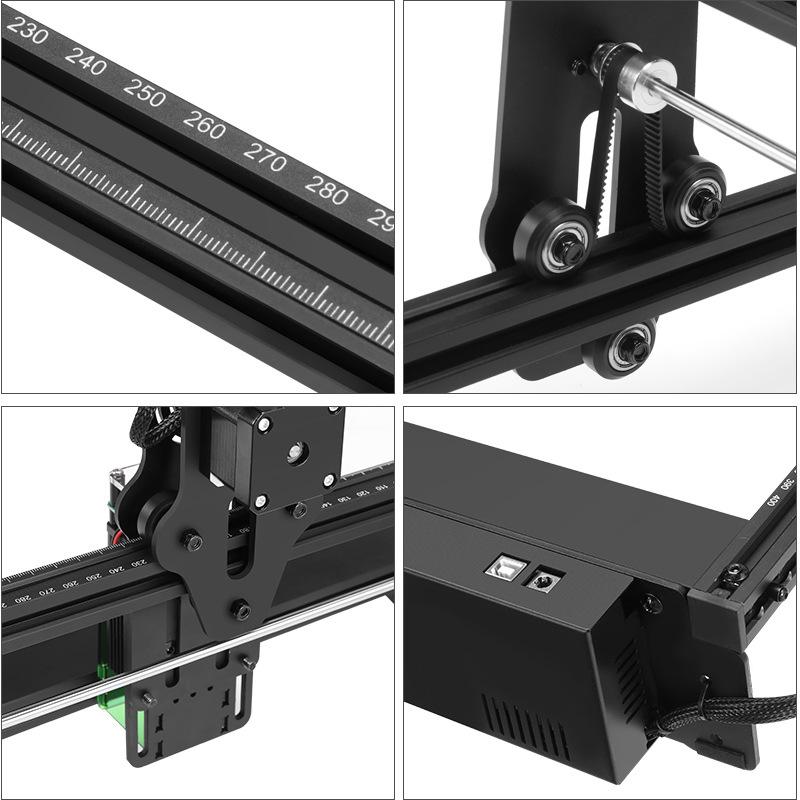 ATOMSTACK A5 20W Laser Engraving Machine Small Portable Automatic DIY LOGO Desktop DIY Laser Engraver