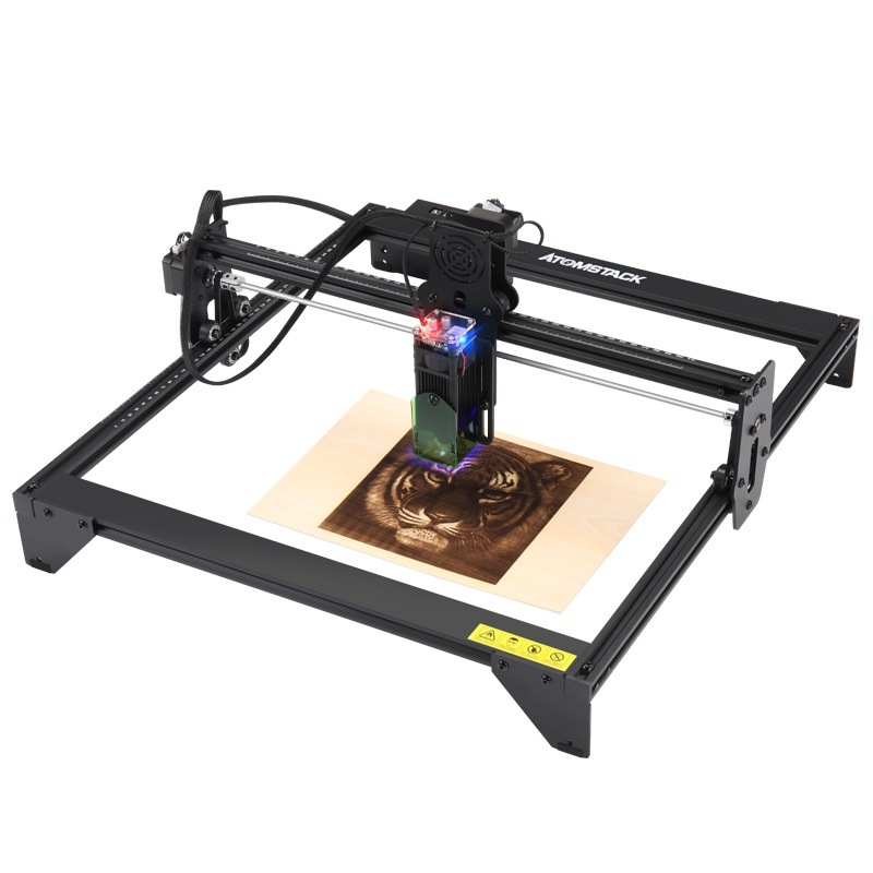 20W Engraving Machine Small Portable Automatic DIY LOGO Desktop