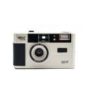 Brand new German VIBE 501F camera non-disposable retro film camera 135 film fool with flash