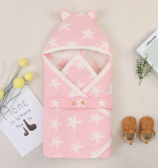 Baby Wrapping Layer Sleeping Bag Children All-Match Hooded Sleeping Bag