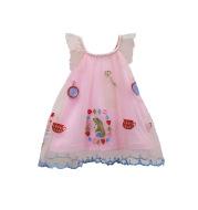 Newbornx Infantx Babyx Girlsx Dressx Cutex Lacex Toddlerx Kidsx Clothingx A-linex Princessx Embroideryx Summerx Dressx 0-2Tx