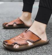Baotou Beef Tendon Sole Beach Shoes Men