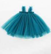 Baby Net Gauze Skirt With Wooden Ears Princess Dress Tutu Skirt
