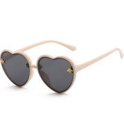 Korean Retro Love Frame Children's Sunglasses