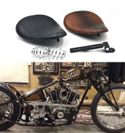 Motorcycle Modification Parts Harley Cushion Retro Modification Cushion Seat Bag Retro Spring Leather Seat Cushion