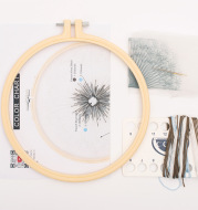 Embroidery Diy Material Package Beginner Material Package Cross Stitch