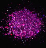 50G Mixed Hexagonal Silver Glitter Laser Sequins Diy Manicure Art Decoration Ten Colors Into