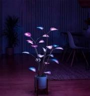 Plant Lamp LED Night Lights Artificial Houseplant Bonsai Plant Lamps LED Decor Plant For Home Bedroom Plant Lights Decor