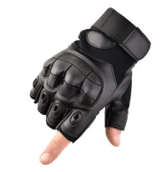 Military Tactical Rigid Knuckle Leather Gloves With Touch Screen Full Finger For Motorcycle Riding Army Winter Cycling Mittens