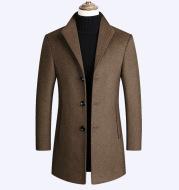 Woolen Coat Men Autumn And Winter Middle-Aged Men