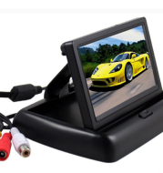 Car Baby Rearview Mirror Observation Mirror For Baby Safety Seats In Car Infrared Surveillances Camera