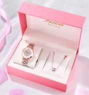 Watch Jewelry Necklace Full Of Star Watch Electronic Watch Set