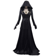 Evil Village Cosplay Costume Vampire Lady Dress Outfits Halloween Carnival Suit