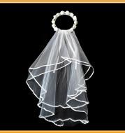 Bridal Wreath Veil White And White Rose Wreath Veil Bachelor Party