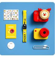 Children S Sports Camera 4K Hd Dual Camera