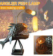 Anglerfish Lamp Floor-standing Retro Art Table Lamp