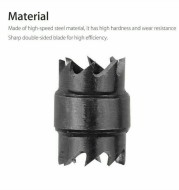 13-piece Set Of Welding Spot Removal Tool, Stainless Steel Special Drill Bit, High-speed Steel Opener