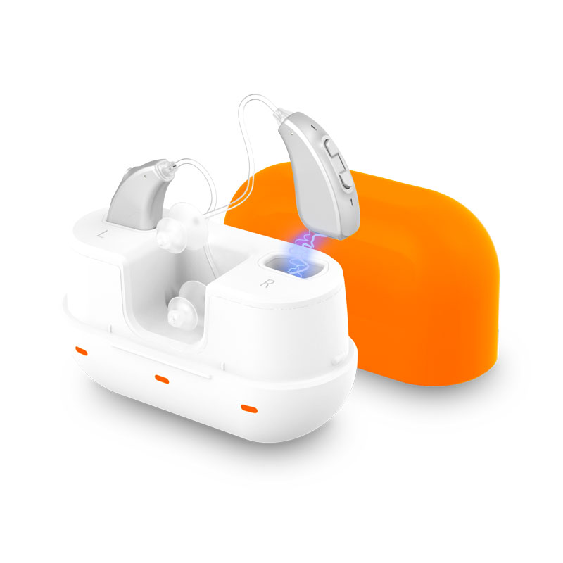 Behind-The-Ear Digital Hearing Aid Sound Amplifier