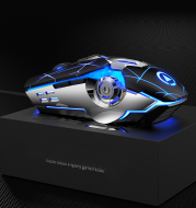 Gaming Mouse Wired Silent Gaming Mechanical Computer Desktop Notebook Office