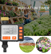 Garden Watering Timer Outdoor Automatic Electronic Watering Timer Irrigation Water Timeing Controller System