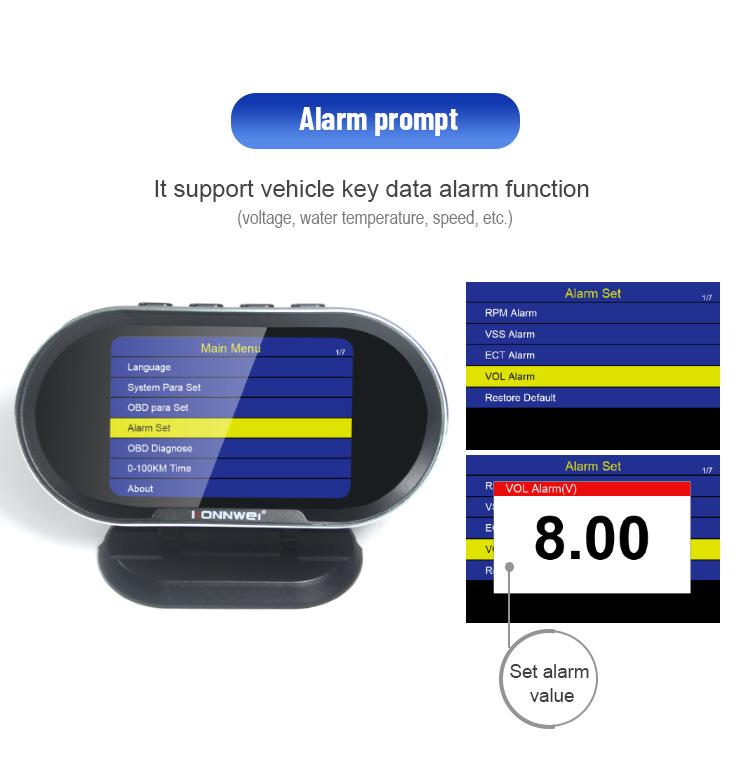 KW206 Car Diagnostic Scanner