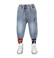 Boys and Girls Jeans Spring Style Handsome Kids