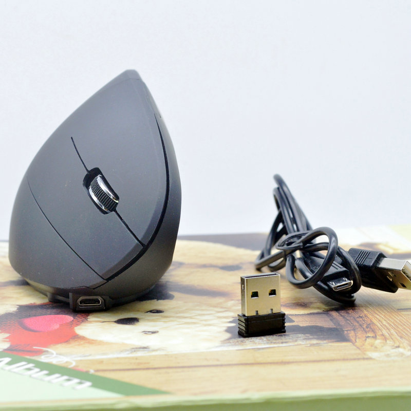 Wireless Vertical Gaming Rechargeable Mouse
