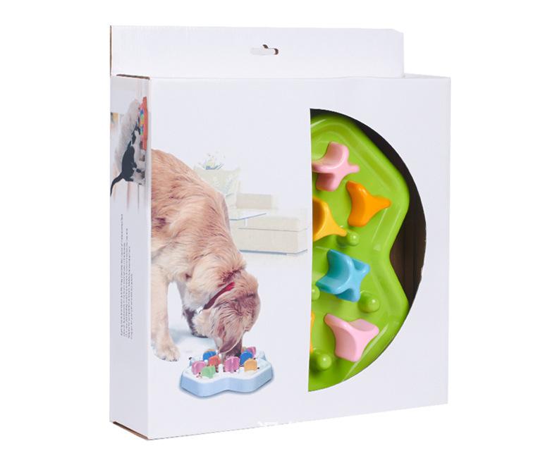 Dog Slow Food Bowl Intelligence Training Bowl