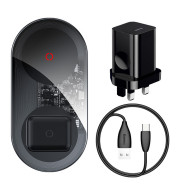Mini Fast Charge 24W Wireless Charger Mobile Phone Power Adapter